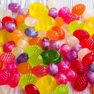 Cukierki, draże, gumy do żucia